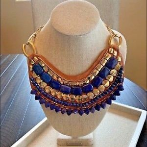 Stella & Dot Indira Bib Necklace